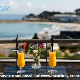 vue imprenable sur la page de Trestel Bretagne - Location de vacances - Trévou-Tréguignec