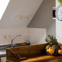 l'appartement - salon séjour avec baie vitrée vue mer et plage - Location de vacances - Trévou-Tréguignec