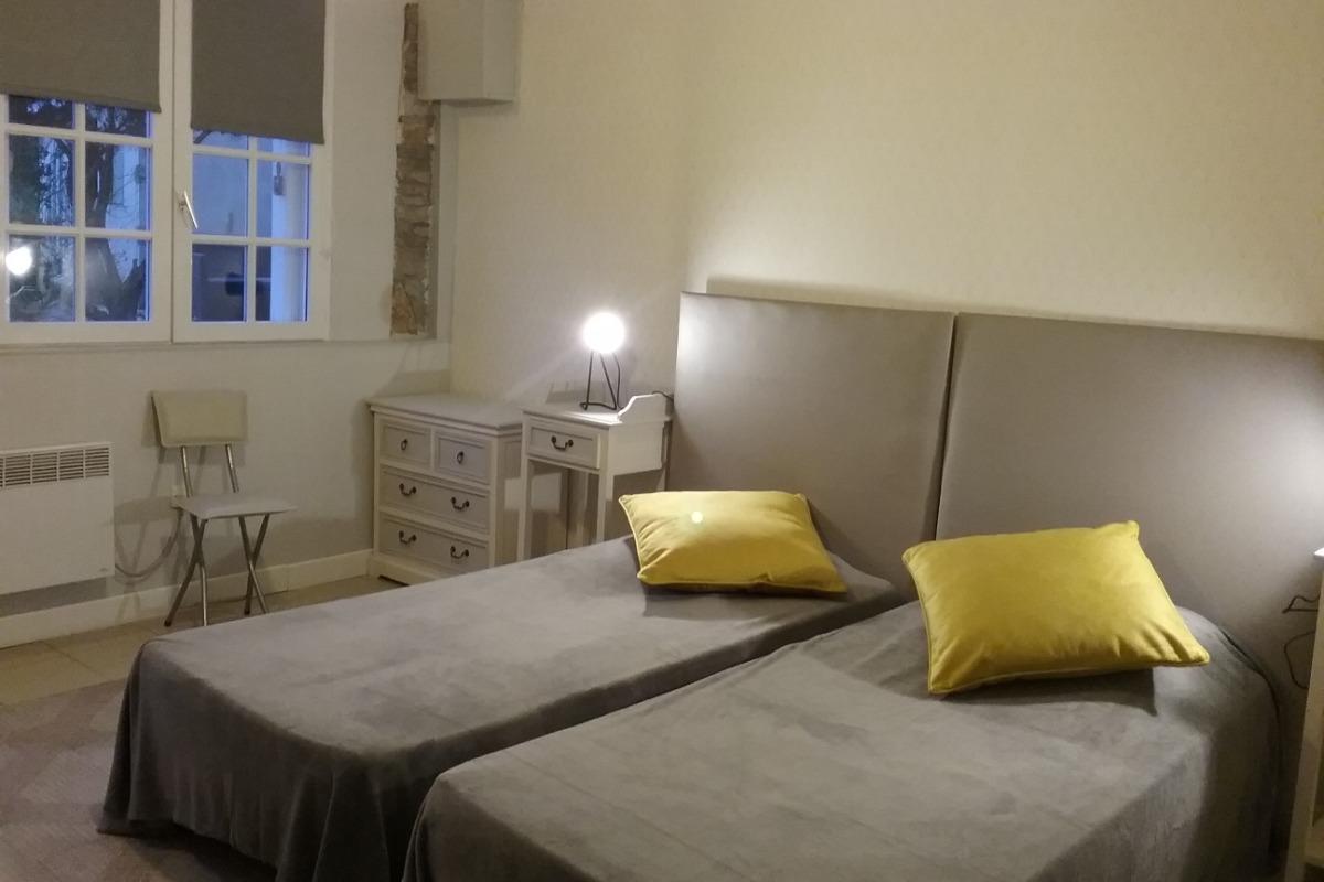 Chambre à 2 lits de plain pied  - Chambre d'hôtes - Ploubazlanec
