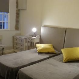 Chambre Pléraneg, RDC avec 2 lits simples - Chambre d'hôtes - Ploubazlanec