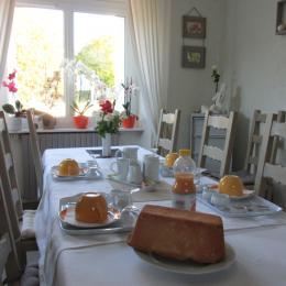 Balan - Chambres d'hôtes - Erquy - Petit-déjeuner - Chambre d'hôtes - Erquy