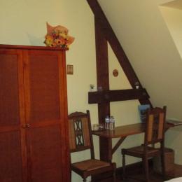 Thiebaut, chambre d'hôtes, double - Chambre d'hôtes - Plougrescant