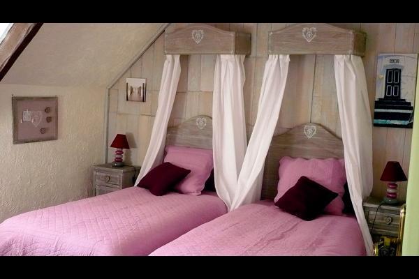 Manoir de la Ville Davy - Chambre d'hôtes - Tréfumel - Chambre Cornette - Chambre d'hôtes - Tréfumel