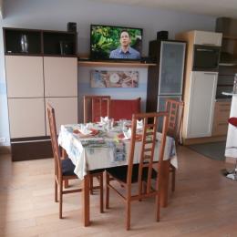 Salle à manger - Location de vacances - Trévou-Tréguignec