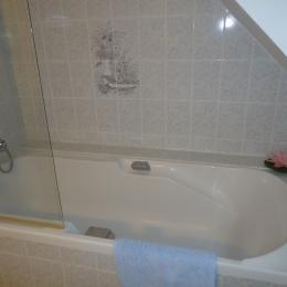 Chambre d'hôtes Locquémeau Lemoigne salle de bain - Chambre d'hôtes - Trédrez-Locquémeau
