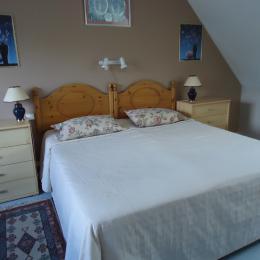 Chambre d'hôtes Locquémeau Lemoigne chambre 2 lits de 90 - Chambre d'hôtes - Trédrez-Locquémeau