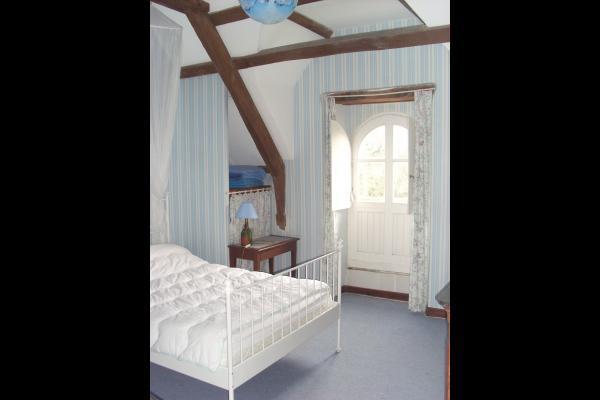 chambre bleue - Location de vacances - Trédarzec