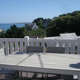 Terrasse Espace Repas - Location de vacances - Perros-Guirec