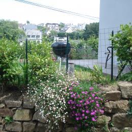 Jardinet / Barbecue - Location de vacances - Perros-Guirec