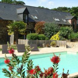 Les Cottages - Les Cavaliers - Lamballe - Location - Terrasse / Piscine - Location de vacances - Lamballe