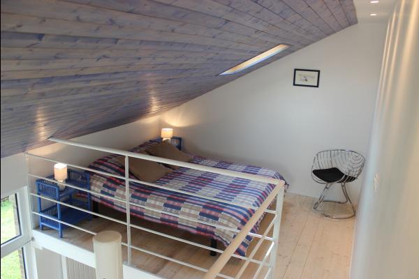 La Maison de Brique-  espace couchage en mezzanine  - Chambre d'hôte - Paimpol