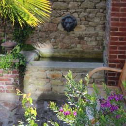 La fontaine dans le jardin  - Chambre d'hôtes - Paimpol