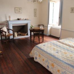 Chambres Brieuc 2 lits jumeaux - Chambre d'hôte - Paimpol