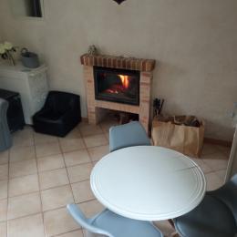 CÖTÉ SALON - Location de vacances - Matignon