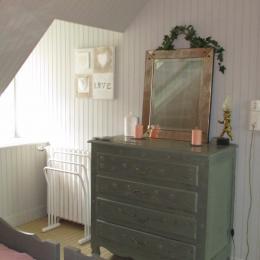 Chambre 2 lits de 90 de la suite familiale - Chambre d'hôtes - Paimpol
