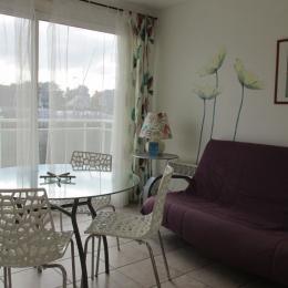Salon-Séjour avec Terrasse - Location de vacances - Erquy