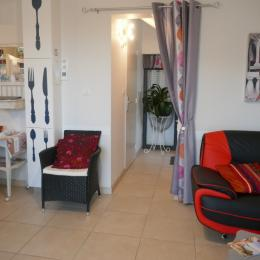 Salon - Location de vacances - Morieux