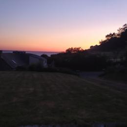 vue arrière  - Location de vacances - Planguenoual