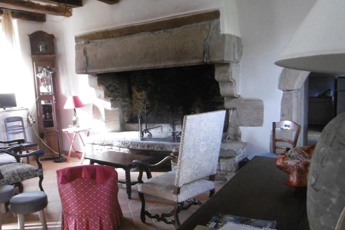le salon du vieux manoir - Location de vacances - Trédarzec