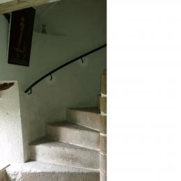 escalier - Location de vacances - Trédarzec