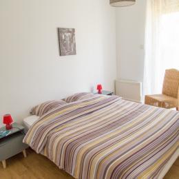 Toutes les chambres sont équipées de literie grand format de qualité hotelière - Location de vacances - Plédéliac