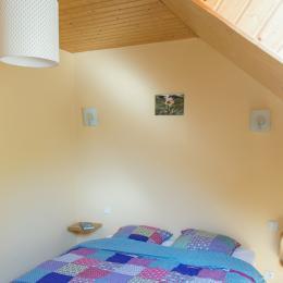 chambre avec lit double largeur 160 - Location de vacances - Plédéliac