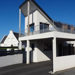 Vue de la maison - Location de vacances - Trévou-Tréguignec