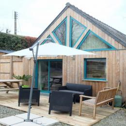 Le Gite et sa terrasse accueillante - Location de vacances - Plouër-sur-Rance