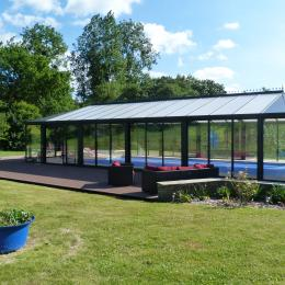 piscine avec terasse - Location de vacances - Plestin-les-Grèves