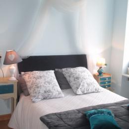Chambre Amour 1er étage gauche avec vue mer  - Chambre d'hôtes - Paimpol
