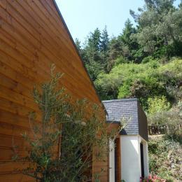 la maison vue cour - Chambre d'hôtes - Plouézec