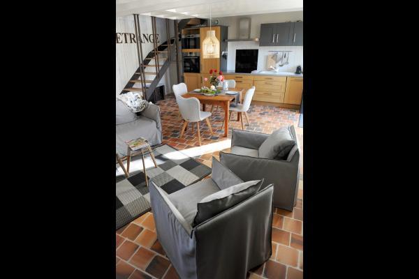 Gîtes de Keregal - LE REPERE DE JULIE - Location - Plouha  - Salon - Location de vacances - Plouha
