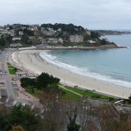 vue mer de l'appartement  - Location de vacances - Perros-Guirec
