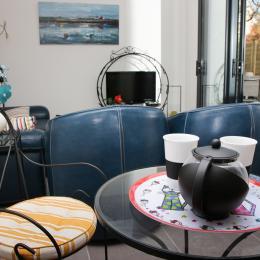 Ker Zen - Location - Pléneuf-Val-André - Salon - Location de vacances - Pléneuf-Val-André