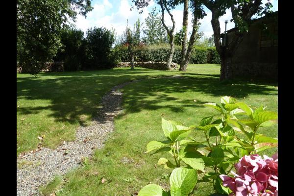 jardin - Location de vacances - Plouisy