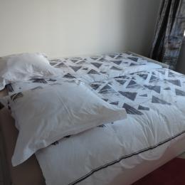 Location Plouasne - Gîte des Eves - Chambre lits jumeaux (2x80cm) - Location de vacances - Plouasne