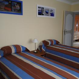 LE BONNIEC location Gîte de marin Paimpol - chambre 2 lits de 90 - Location de vacances - Paimpol