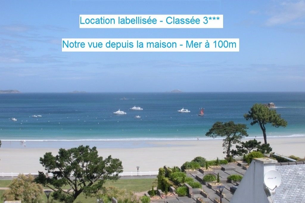 vue de la salle de séjour - Location de vacances - Perros-Guirec