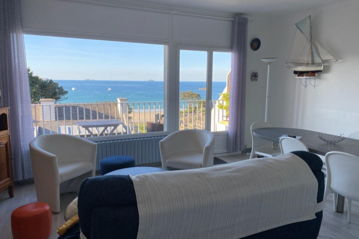 La vue depuis les chambres - Location de vacances - Perros-Guirec
