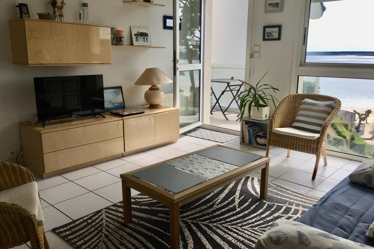 Location - Saint-Cast-le-Guildo - Balcon vue mer - Location de vacances - Saint-Cast-le-Guildo
