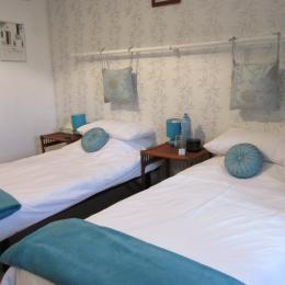 Le Chatel - Chambres d'hôtes - Saint-Judoce - Chambre bleue - Chambre d'hôte - Saint-Judoce
