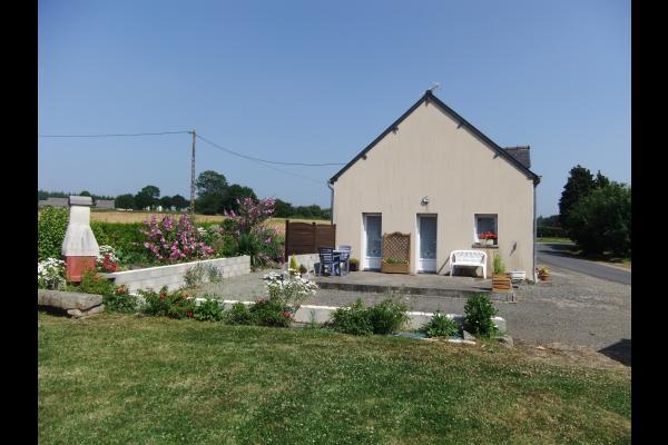Location de vacances - Plaintel - Maison avec jardin en campagne, au sud de Saint-Brieuc - Location de vacances - Plaintel