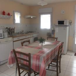 Location - Maison de vacances - Plaintel - Séjour / Cuisine ouverte - Location de vacances - Plaintel