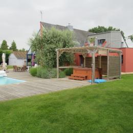 Chambre d 39 h tes 2 pers avec spa et piscine chauff e - Chambre d hote piscine chauffee ...