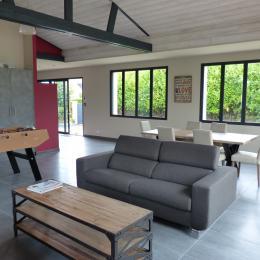 MORELLEC, Location, Perros-Guirec, séjour-salon - Location de vacances - Perros-Guirec