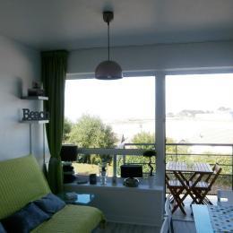 une autre vue du séjour - Location de vacances - Trévou-Tréguignec