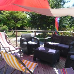 Le salon d'été - Location de vacances - Erquy