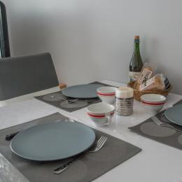 Partie repas  - Location de vacances - Binic