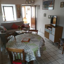 salon, salle à manger - Location de vacances - Paimpol