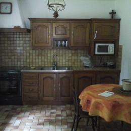 cuisine rdc - Location de vacances - Trédarzec